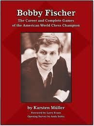 Engelsk skakbog Bobby Fischer the career and complete